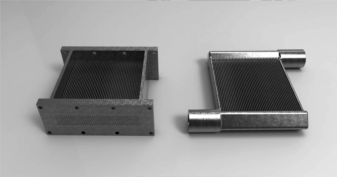 CEEE's heat-exchanger application created in autodesk