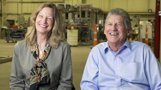 Denise and Dale McIntosh of Custom Powder Systems