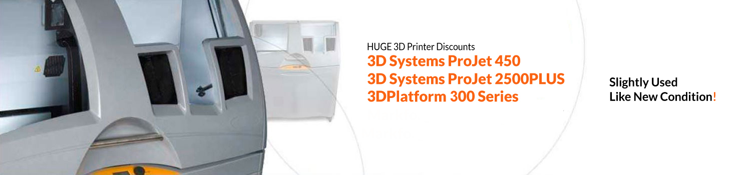 Huge discount on a 3D Systems printer