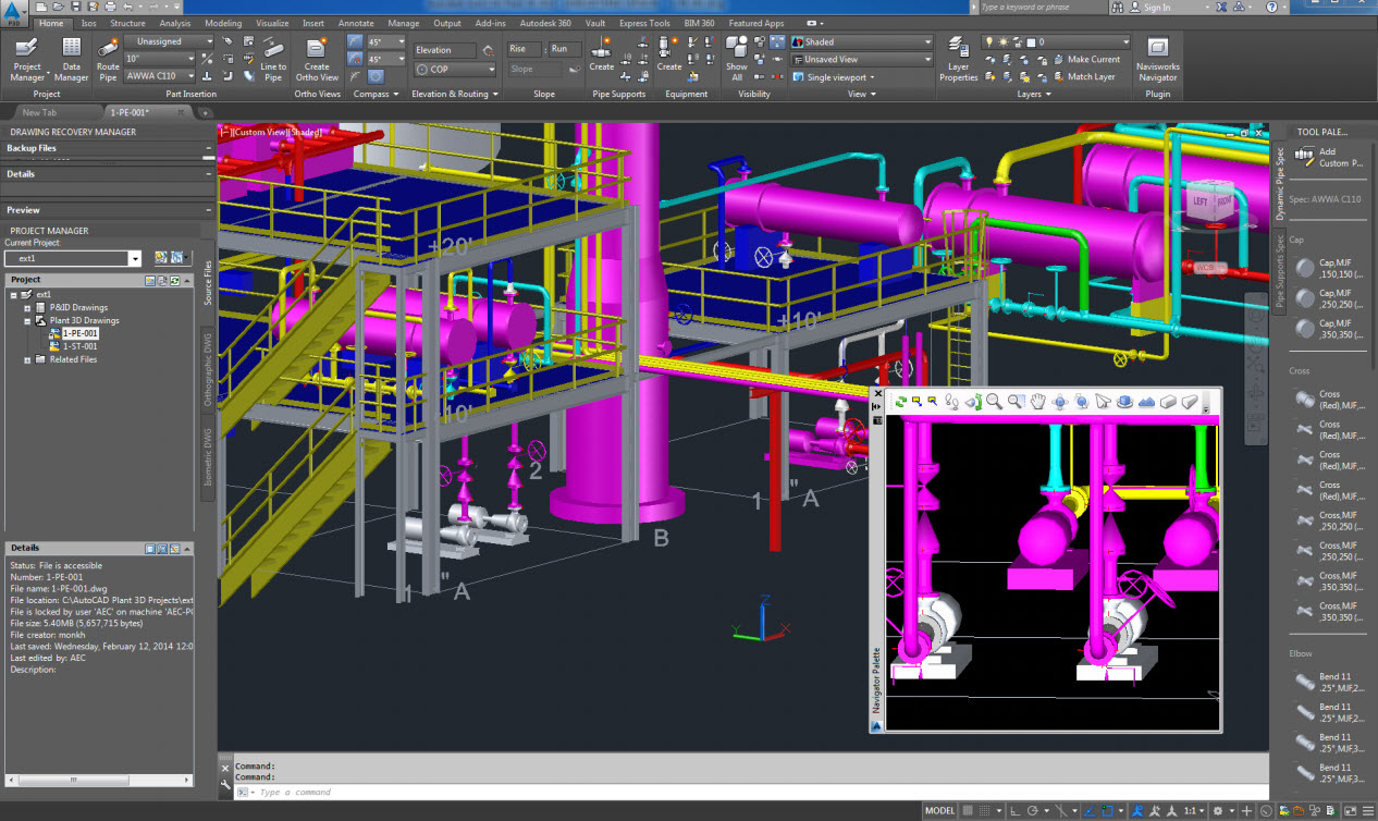 Hub | Industrial Piping & Plant Design | CAD | Solutions