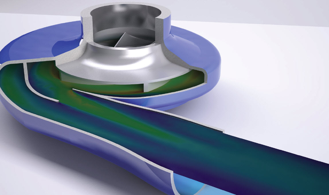 Autodesk CFD fluid flow and thermal simulation